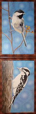 Painting - Avian Duet by Amanda  Lynne