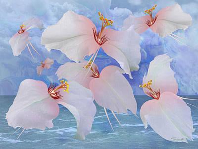 Digital Art - Avian Flowers by M Spadecaller