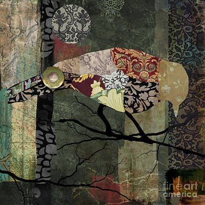 Aviary II Art Print by Mindy Sommers