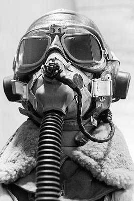 Photograph - Aviator Oxygen Mask by Steven Green