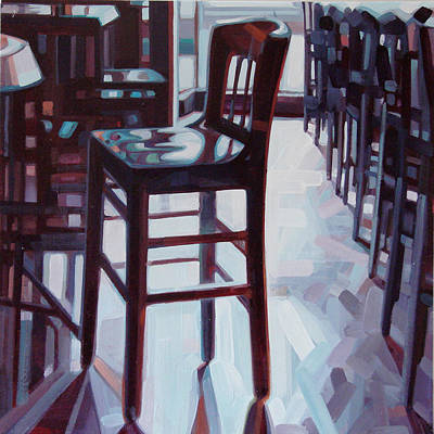 Art Dealer Painting - Avida Seat by Penelope Moore