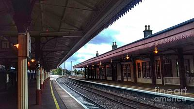 Photograph - Aviemore Station 2 by Joan-Violet Stretch