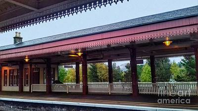 Photograph - Aviemore Station 3 by Joan-Violet Stretch
