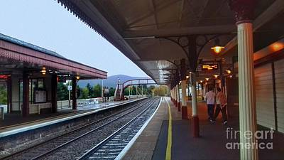 Photograph - Aviemore Station by Joan-Violet Stretch