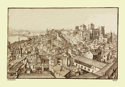 Photograph - Avignon 1610 by Andrew Fare