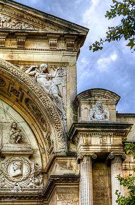 Photograph - Avignon Opera House Muse 2 by Weston Westmoreland