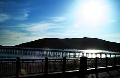 Photograph - Avila Beach Pier by Gary Brandes
