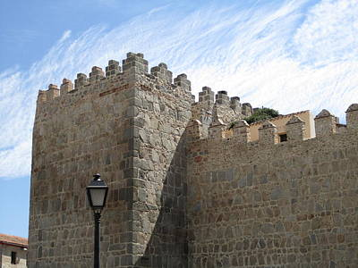 Photograph - Avila Castle In The Sky II by John Shiron