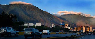Photograph - Avila From The Highway by Bibi Rojas