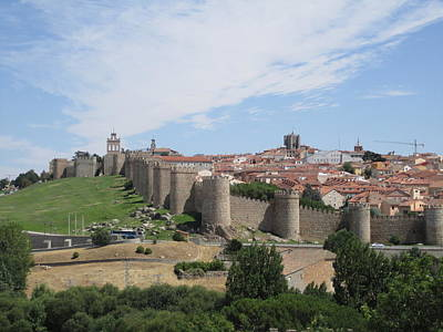 Photograph - Avila Panorama Spain II by John Shiron