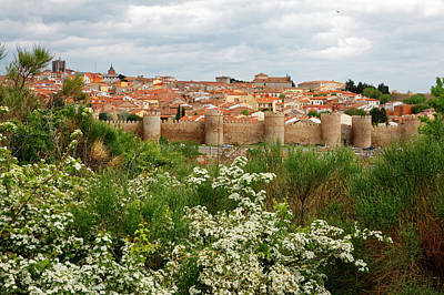 Photograph - Avila Spain by Sally Weigand