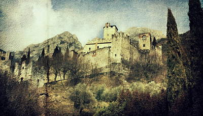 Photograph - Avio Castle by Vittorio Chiampan