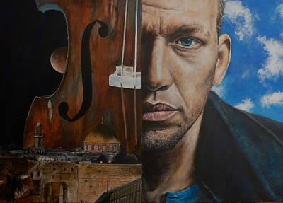 Painting - Avishai Cohen by Pascal Martos