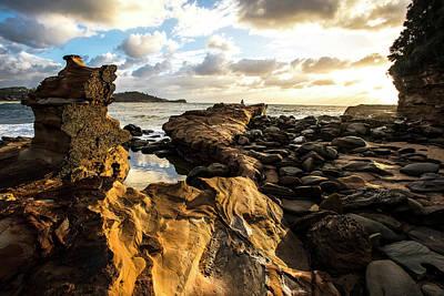 Photograph - Avoca Rocks Mk1 by David Benson