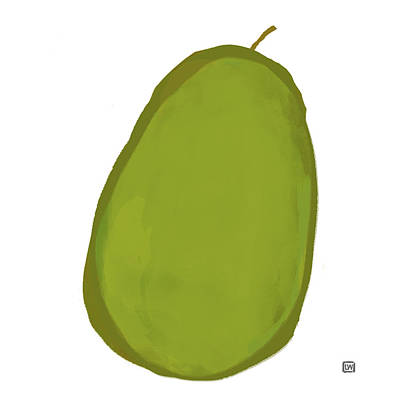 Painting - Avocado I by Lisa Weedn