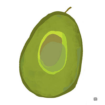 Painting - Avocado II by Lisa Weedn