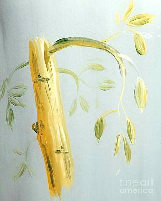 Painting - Avocado Tree  by Maria Langgle