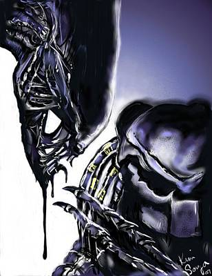AVP Art Print by Kim Souza