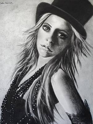 Drawing - Avril Lavigne by Carla Carson