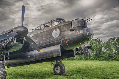 Photograph - Avro Lancaster 3808 by Guy Whiteley