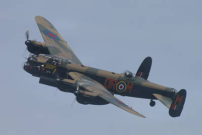 Art Print featuring the photograph Avro Lancaster B1 Pa474  by Tim Beach