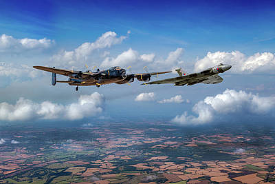 Photograph - Avro Sisters  by Gary Eason