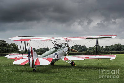 Photograph - Avro Tutor K3241 by Simon Pocklington