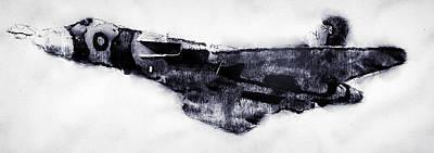 Drawing - Avro Vulcan - 04 by Andrea Mazzocchetti