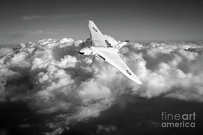 Photograph - Avro Vulcan B1 Strategic Bomber by Gary Eason