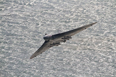 Photograph - Avro Vulcan by Will Gudgeon
