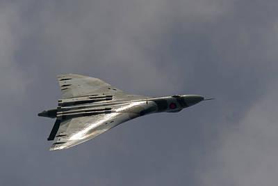 Photograph - Avro Vulcan Sunlit by Gary Eason
