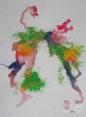 Avversari Preistorici Art Print by Roberto Prusso