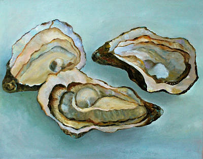 Half Shell Painting - Aw Shucks by Kay Fuller