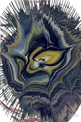 Painting - Aw Who's A Grumpy Gorilla? by Lori Kingston