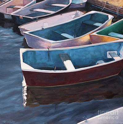 Painting - Awaiting Duty by Lynne Schulte