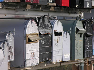 Awaiting Mail Also Art Print by Diane Greco-Lesser