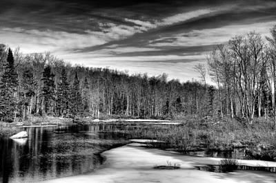 Photograph - Awaiting Spring At The Creek by David Patterson