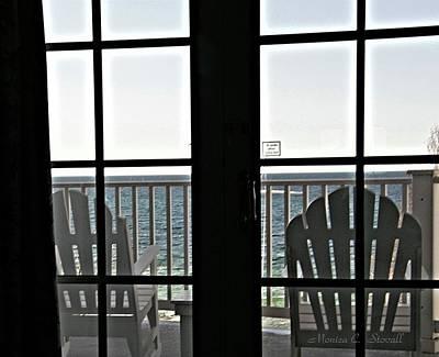 Awaiting Summer Warmth At Lake Michigan Art Print