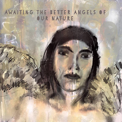 Horrible Painting - Awaiting The Better Angels by Lisa Page