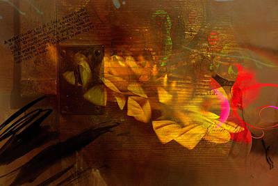 Digital Art - Awake Background by Richard Ricci