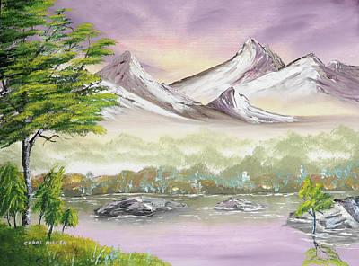 Painting - Awake O' Spring by Carol L Miller