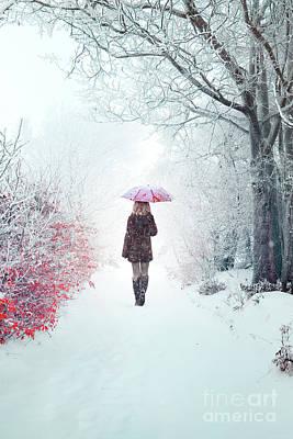 Photograph - Awaken Into Winter by Evelina Kremsdorf
