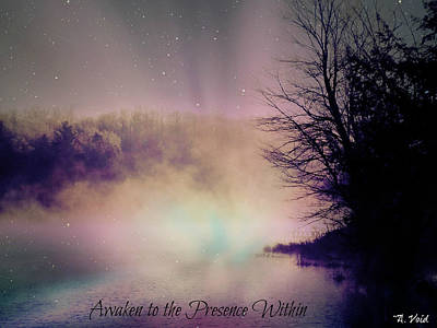 Photograph - Awaken To The Presence Within by Catherine Asoka Void