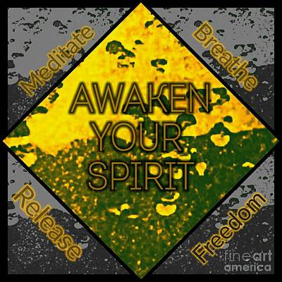 Photograph - Awaken Your Spirit by Rachel Hannah