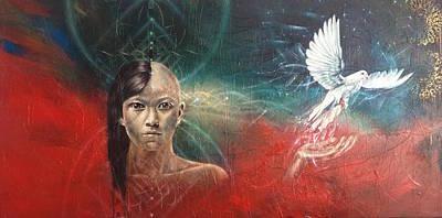 Awakening Art Print by Andrea Carroll