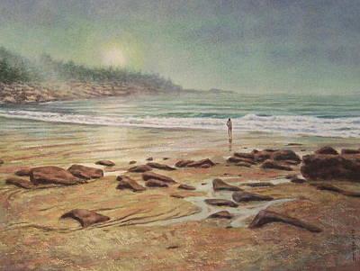 Maine Landscapes Painting - Awakening by Barry DeBaun