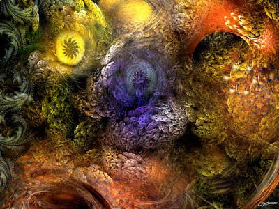 Awakening Digital Art - Awakening by Casey Kotas