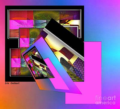 Digital Art - Awakening by Iris Gelbart