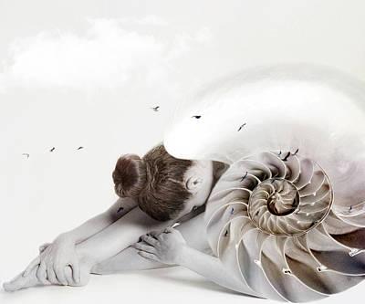 Fantasy Digital Art - Awakening by Jacky Gerritsen