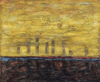 Painting - Awakening by Jim Benest